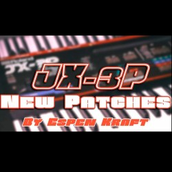 Roland JX-3P | 32 New Patches for SynthPop / Italo Disco / Synthwave